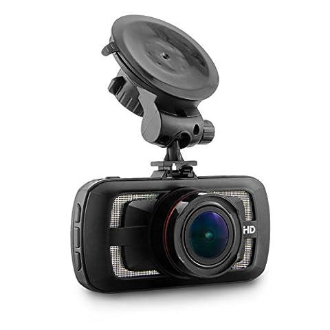 Auto-Kamera / Video-Kamera-Auto mit Betrachtungswinkel 170 ° Super Wide, ADAS-Kamera-System GPS-Auto-Kamera für Auto Super HD 2560 × 1440P FHD, G-Sensor Thermal Fenster (Thermal Sensor)