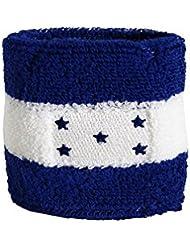 Schweißband Motiv Fahne / Flagge Honduras + gratis Aufkleber, Flaggenfritze®