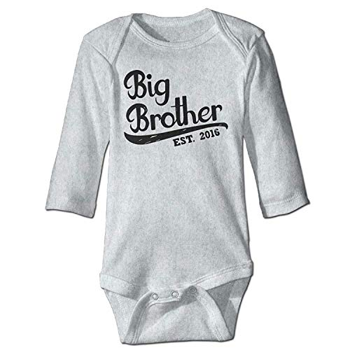 MSGDF Unisex Toddler Bodysuits Gift for Big Brother 2016 Girls Babysuit Long Sleeve Jumpsuit Sunsuit Outfit - Girl Blues Brothers Kostüm