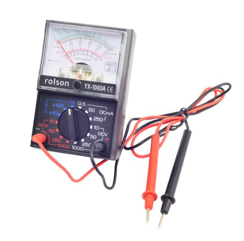 Rolson 27249 Analogue Multimeter Test