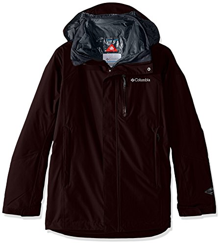 Columbia Men's Lhotse II Interchange Jacket, New Cinder, XX-Large
