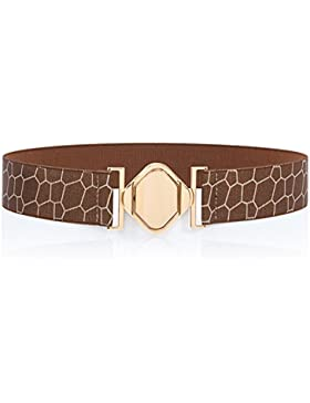 Cinturón De Simple/Moda De Cintura Ancho Elástico/Cinturones Elásticos Versátiles-A 65cm(26inch)