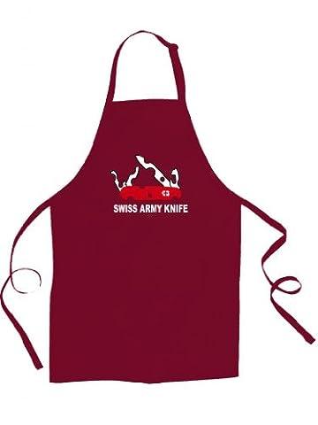 SWISS ARMY KNIFE- unisex Schürze Käse