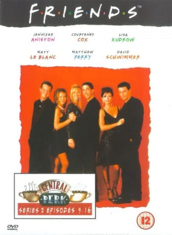 Click for larger image of Friends - Series 2 - Episodes 9-16 [DVD] [1995]