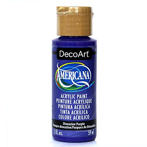 Deco Art Americana Acryl Transparent Mehrzweck-Paint, Dioxazine Purple