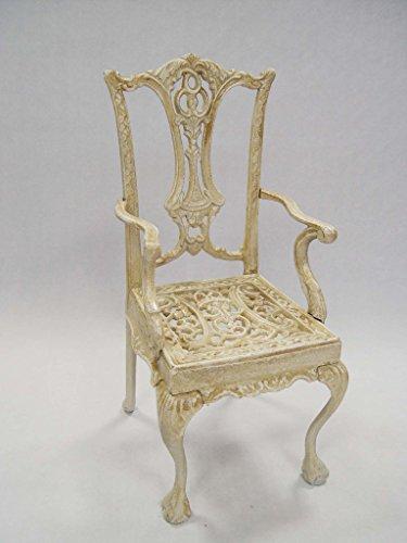 Deko Seggiolone per bambole bambole mobili sedia nostalgia 22,5x 20,5x 44cm Bianco