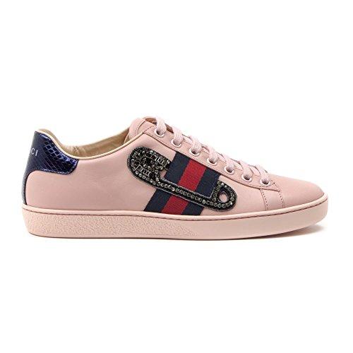 gucci-mujer-454552a38g05962-rosa-cuero-zapatillas