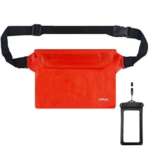 waterproof-pouches-dry-bags-with-waist-strap-for-beach-swimming-boating-kayaking-fishing-hiking-bund