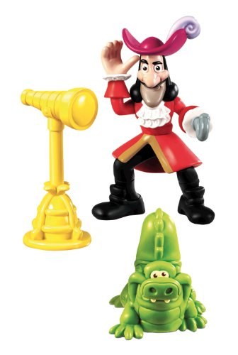 Jake and the Pirates - Action Figure, Hook and Croc (Mattel Y2261)