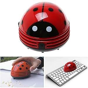 Gearmax Aspirapolvere Portatile a forma di Coccinella, Aspirapolvere Polvere a Batteria per Casa/Ufficio