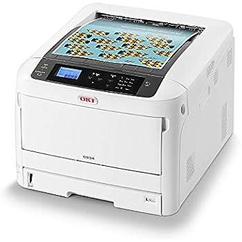 OKI C824n Color 1200 x 600 dpi A3 - Impresora láser (LED, Color ...