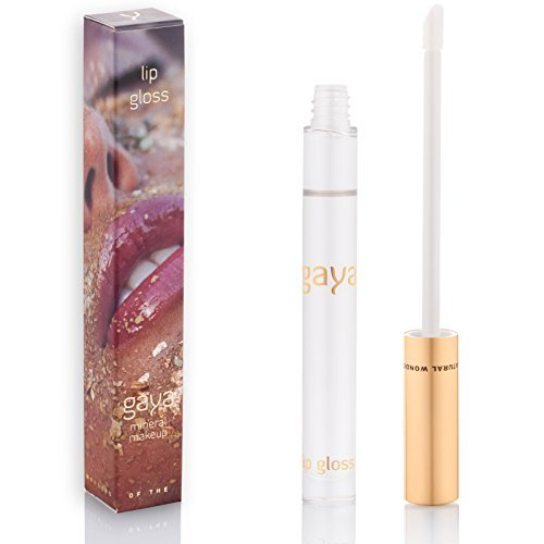 Brillo De Labios Transparente – Vegano, Transparente, Sin Color Y En Frasco De 8ml