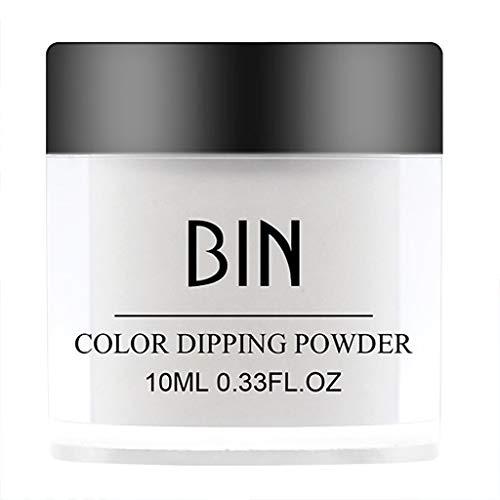 Cuteelf 12 Bunte Nail Art Fluoreszierende Powder Nail Dekoration für Glow in Dark Kit 1 Satz Nagel leuchtenden Pulver (Farbe)