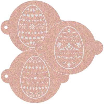 Stencil Pizzarahmen Kit Fiesta Ostern 001. Ungefähre Maße: Aussenmaß des Stencil: 11,5x 9cm Maßnahme des Design: 4,5x 4,5cm Maßnahme der Figur 1: 3,4x 4,5cm Maßnahme der Figur 2: 4,4x 4,5cm (Kit Tätowierung)