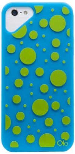 Cloud Olo-Cover per Apple iPhone 5, motivo P Fashion- dotBlue