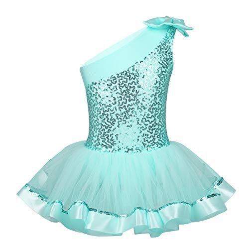 IEFIEL Disfraces Bailarina Niña Maillot Ballet Lentejuelas