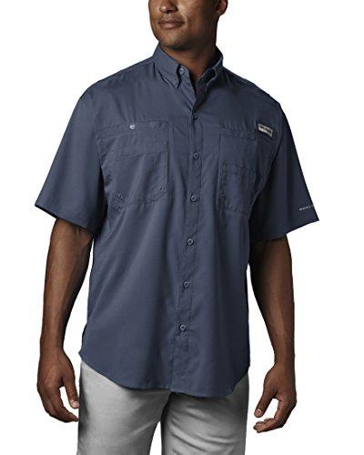 Tamiami Angeln Shirt (Columbia Herren Tamiami II Kurzarmhemd Small Dark Mountain)