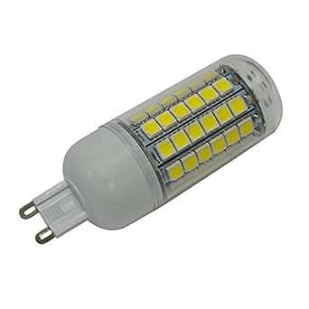 1X G9 8W LED Bulb 69 SMD 5050 Energy Saving Lamp 360 Degree LED Cool White High Power Corn Light AC220-240V