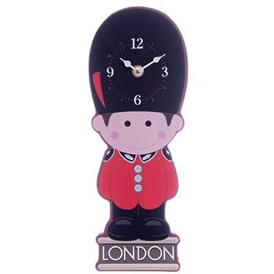Puckator CKP82, Wall Clock, London Beefeater Design