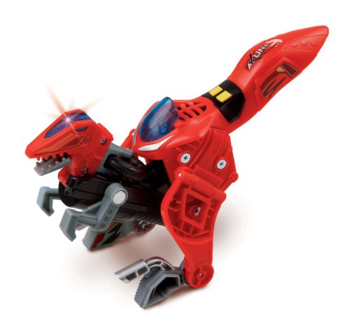 Vtech Switch & Go Akuna el velocirraptor - Figura transformable