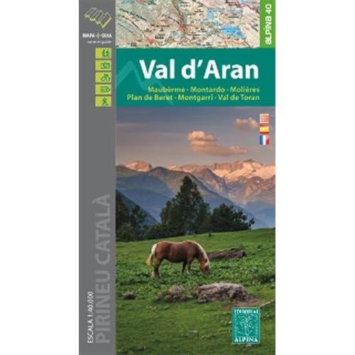 Val d'Aran : 1/40 000