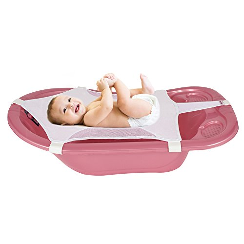 Sevibaby Baby Badesitz / Badewanne Netz 03 / Badenetz - Das Babybadewannennetz erleichtert allen Eltern das Baden Ihres Babys und ist universell und einfach einsetzbar in Verbindung mit einer Babybadewanne