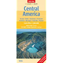 Nelles Map Central America (Landkarte) 1 : 1 750 00 / 1 : 900 000. Special Maps: Yucatan, Belize, Guatemala, El Salvador, Honduras, Nicaragua, Costa Rica, Panama and City Maps