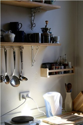 Ikea set di 4 portaspezie in legno motivo nursery - Mensola cucina ikea ...