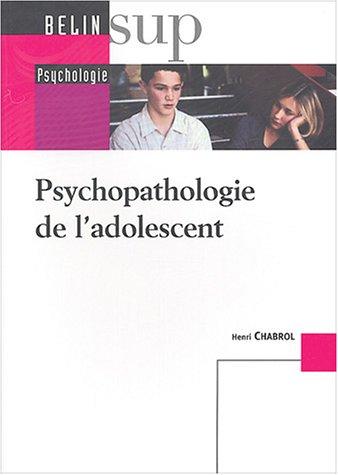 Psychopathologie de l'adolescent