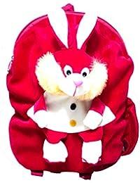 Art-N-Soul Rabbit Soft Cartoon Toy Cute Kids Plush Backpack/ Birthday Return Gift/ School Bag/ Travelling Carry...