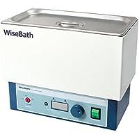Witeg Wasserbad WB-6 6L bis 100°C, aus Edelstahl inklusive Flachdeckel, LCD-Anzeige mit Beleuchtung