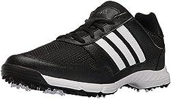 adidas Men s Tech Response Cblack Ftww Golf Shoe Black 8 D(M) US