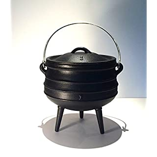Witches Cauldron/ African Potjie Pot (Size No1, 3 litre Capacity)
