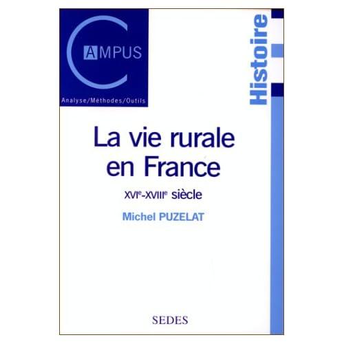 La vie rurale en France, du XVIe au XVIIIe siècle