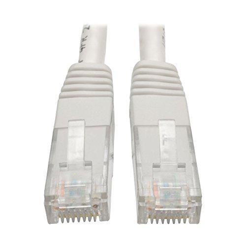 Tripp Lite Patchkabel (Cat5e, RJ45, Stecker/Stecker, 550 MHz) Weiß weiß 1 ft. -