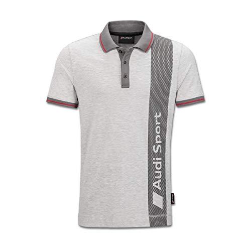 Audi Original Sport Poloshirt, Herren, Grau (M)