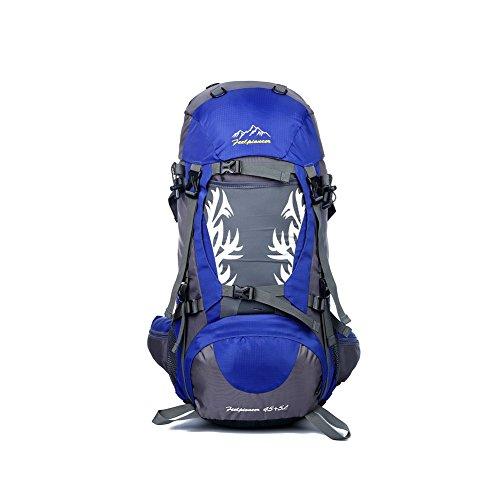 YAAGLE Neu Outdoor Sport Bersteigen Tasche Camping Rucksack professionelle wasserdichte Radfahrentasche Damen und Herren Unisex-blau blau