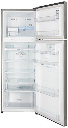 LG 335 L 4 Star Frost-Free Double Door Refrigerator (GL-U372JPZX, Shiny Steel)