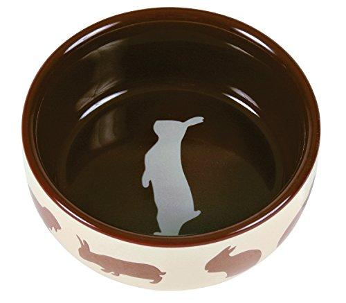 Trixie TX-60733Ceramic Bowl for Rabbit 250ml 11cm