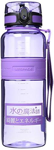 Uzspace Trink Tritan Trinkflasche Bpa-Frei Wasserflasche Sports - lila - 1.5L -