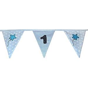 Wimpelkette mit Zahl - Wunschzahl - Geburtstag