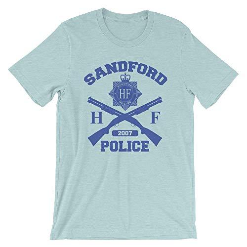 Hot Fuzz - Sandford Police Cornetto Trilogy Movie T-Shirt - Fuzz-t-shirt Hot
