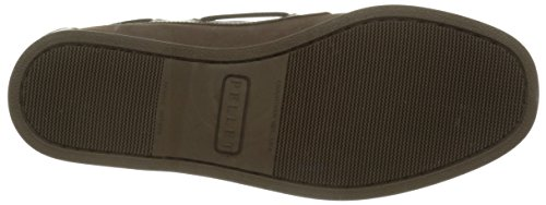 Pellet Tropic E16, Chaussures Bateau Homme Marron (Velours Marron/Pull Marron)
