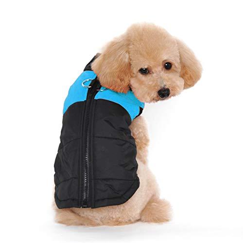Ericoy Winter Warm Pet Hund Kleidung klein Wasserdichte Hundemantel Jacke Winter Gesteppt Gepolstert Puffer Pet Kleidung - Winter Pet-kleidung Kleine Hunde Für