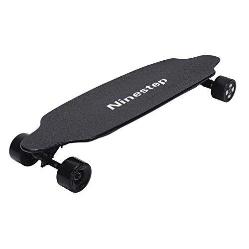 Ninestep 25 mph dual motor 38 pulgadas Profesional Electric Skateboard LG 6.6Ah Longboard eléctrico Hotspot con control remoto inalámbrico