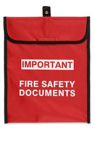 Soft Case Fire Document Holder