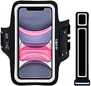 Fascia da Braccio Portacellulare per Correre, EOTW Porta Cellulare Braccio per Huawei P30 Pro, iPhone 11/11 Pr