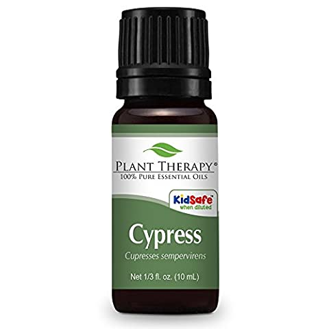 Cypress Essential Oil. 10 ml. 100% Pure, Undiluted, Therapeutic Grade. by Plant Therapy Essential