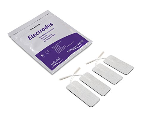 Bodyclock Health Care Ltd - Self Adhesive Electrodes 40X100Mm (Pk4) Test