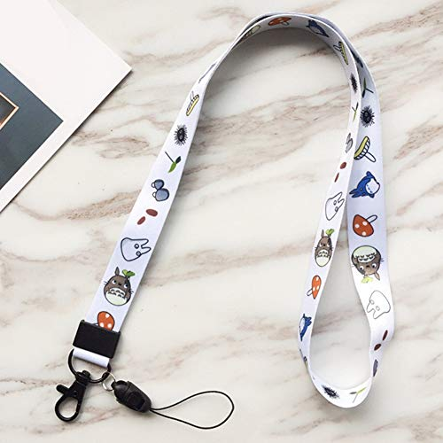 Mini Office Depot Sailor Moon Totoro Schlüsselband ID Badge Holders Phone Neck Schlüsselanhänger(H01)